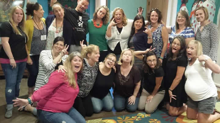 IAPT Hosts Theraplay Training
